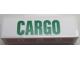 Part No: 30413pb042  Name: Panel 1 x 4 x 1 with Green 'CARGO' Pattern (Sticker) - Set 60052