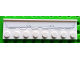 Part No: 30586pb02  Name: Plate, Modified 2 x 8 with Door Rail with Airplane Flaps Pattern (Sticker) - Set 4209
