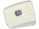 Part No: 30602pb074  Name: Slope, Curved 2 x 2 Lip with Silver Police Badge Pattern (Sticker) - Set 60086