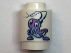 Part No: 3062bpb062  Name: Brick, Round 1 x 1 Open Stud with Lavender Cricket Pattern (Cri-Kee)