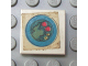 Part No: 3068apb06  Name: Tile 2 x 2 without Groove with Blue Circle Plate, Green Mass, 2 Red Spots, 2 Yellow Spots Pattern (Sticker) - Set 263-1
