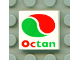 Part No: 3068bpb0018  Name: Tile 2 x 2 with Groove with Octan Logo Pattern