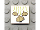 Part No: 3068bpb0041  Name: Tile 2 x 2 with Groove with Garlic Pattern