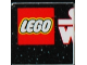 Part No: 3068bpb0223  Name: Tile 2 x 2 with Groove with Star Wars Mosaic Falcon and X-wing Pattern  1 - LEGO Logo, Start of 'S' and 'W'