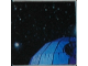 Part No: 3068bpb0230  Name: Tile 2 x 2 with Groove with Star Wars Mosaic Falcon and X-wing Pattern  8 - Death Star Upper Left
