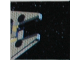 Part No: 3068bpb0236  Name: Tile 2 x 2 with Groove with Star Wars Mosaic Falcon and X-wing Pattern 14 - Nose of Falcon