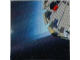 Part No: 3068bpb0241  Name: Tile 2 x 2 with Groove with Star Wars Mosaic Falcon and X-wing Pattern 19 - Falcon Lower left