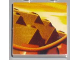 Part No: 3068bpb0249  Name: Tile 2 x 2 with Groove with Indiana Jones Raiders Pattern  6 - Whip