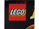 Part No: 3068bpb0265  Name: Tile 2 x 2 with Groove with Indiana Jones Temple of Doom Pattern  1 - LEGO Logo, Start of 'I'