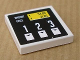 Part No: 3068bpb0328  Name: Tile 2 x 2 with Groove with Gas/Fuel Pump Pattern (Sticker) - Set 8135