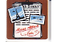 Part No: 3068bpb0415  Name: Tile 2 x 2 with Groove with Clipboard and Photos Pattern