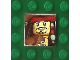 Part No: 3068bpb0499  Name: Tile 2 x 2 with Groove with Pirates of the Caribbean Pattern 10