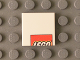 Part No: 3068bpb0795  Name: Tile 2 x 2 with Groove with LEGO Logo Upper Half Pattern