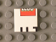 Part No: 3068bpb0799  Name: Tile 2 x 2 with Groove with LEGO Logo Lower Half and 'UT' Upper Half Pattern