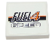 Part No: 3068bpb0943  Name: Tile 2 x 2 with Groove with 'FUEL4 SPEED' Pattern (Sticker) - Set 8147