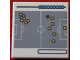 Part No: 3068bpb1003  Name: Tile 2 x 2 with Groove with Football (Soccer) Field Strategy Chart Pattern