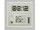 Part No: 3068bpb1139  Name: Tile 2 x 2 with Groove with Gray Screen with '00:12' Pattern (Sticker) - Set 8637