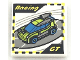Part No: 3068bpb1141  Name: Tile 2 x 2 with Groove with 'Racing', 'GT' and Race Car Video Game Pattern