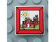Part No: 3068bpx72  Name: Tile 2 x 2 with Groove with Fabuland House In Frame Pattern