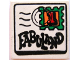 Part No: 3068pb01  Name: Tile 2 x 2 with Fabuland Mail Envelope, Text and '1' Stamp Pattern
