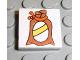 Part No: 3068pb20  Name: Tile 2 x 2 with Fabuland Flour Bag Pattern