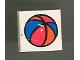 Part No: 3068pb30  Name: Tile 2 x 2 with Fabuland Ball Pattern