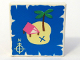 Part No: 3068px15  Name: Tile 2 x 2 with Map Island with X and Palm Tree Pattern