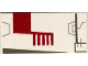 Part No: 3069bps4  Name: Tile 1 x 2 with Groove with X-wing Fighter Right Pattern