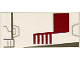 Part No: 3069bps5  Name: Tile 1 x 2 with Groove with X-wing Fighter Left Pattern