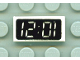 Part No: 3069px5  Name: Tile 1 x 2 with Clock Digital Pattern - '12:01' or '10:21'