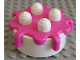 Part No: 31287c02  Name: Duplo Food Cake with Dark Pink Frosting