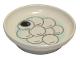 Part No: 31333pb07  Name: Duplo Utensil Dish with Tang Yuan Sesame Rice Balls on Light Aqua Plate Pattern