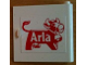 Part No: 3194pb05  Name: Door 1 x 5 x 4 Right with Arla Dairy Logo Pattern (Sticker) - Set 1581-2