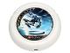 Part No: 32171pb014  Name: Throwbot Disk, Ski / Ice, 3 pips, Ski throwing disk Pattern
