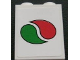 Part No: 3245cpb086  Name: Brick 1 x 2 x 2 with Inside Stud Holder with Octan Logo Pattern (Sticker) - Set 3180