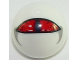 Part No: 32474pb013  Name: Technic, Ball Joint with Red Eye Pattern
