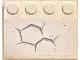 Part No: 3297pb044  Name: Slope 33 3 x 4 with Dark Bluish Gray Hexagonal Pattern 1 (Sticker) - Set 75202