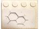 Part No: 3297pb045  Name: Slope 33 3 x 4 with Dark Bluish Gray Hexagonal Pattern 2 (Sticker) - Set 75202