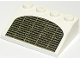 Part No: 3297px4  Name: Slope 33 3 x 4 with Grille Pattern