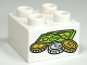 Part No: 3437pb056  Name: Duplo, Brick 2 x 2 with Money Coins and Bills Pattern