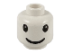 Part No: 3626bpb0038  Name: Minifigure, Head Nesquik Bunny Eyes and Smile Pattern - Blocked Open Stud
