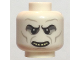 Part No: 3626cpb1692  Name: Minifigure, Head Alien with HP Voldemort with Teeth Pattern - Hollow Stud