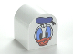 Part No: 3664pb18  Name: Duplo, Brick 2 x 2 x 2 Curved Top with Donald Duck Pattern