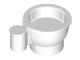Part No: 38014  Name: Minifigure, Utensil Tea Cup