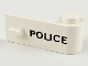 Part No: 3821pb001  Name: Door 1 x 3 x 1 Right with 'POLICE' Pattern