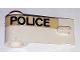 Part No: 3822pb025  Name: Door 1 x 3 x 1 Left with Wide 'POLICE' Pattern (Sticker) - Set 621