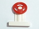 Part No: 3829c03  Name: Vehicle, Steering Stand 1 x 2 with Red Steering Wheel