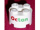 Part No: 3941pb01  Name: Brick, Round 2 x 2 with Axle Hole with Octan Pattern
