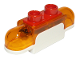 Part No: 39787c02  Name: Duplo Siren with Light and Sound, 1 x 2 Base with Trans-Orange Lights, Curved Edges and Red 2 Stud Button on Top