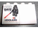 Part No: 4066pb339  Name: Duplo, Brick 1 x 2 x 2 with Star Wars Days 2009 Pattern